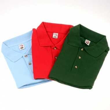 Zwart 3 grote maten polo shirts 8xl t-shirt