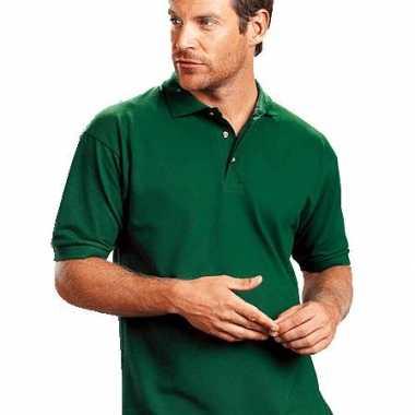 Zwart 4xl grote maten poloshirt t-shirt