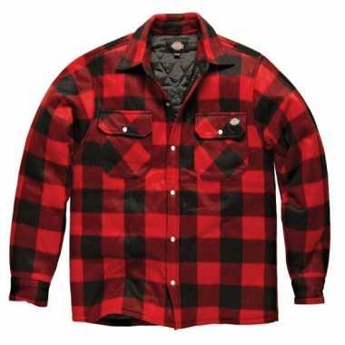 Zwart bouwvakkers jas dickies t-shirt