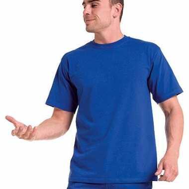 Zwart logostar grote maten t-shirt 6xl