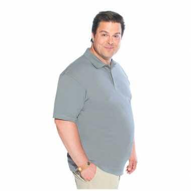 Zwart logostar poloshirt in maat 3xl t-shirt