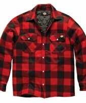 Zwart bouwvakkers jas dickies shirt